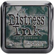 TDPK-40422-4 Штемпельная подушка DISTRESS MINI,  Tim Holtz, 1 шт. Pine Needles - сосновая хвоя.