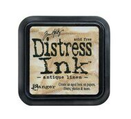 TDPK-40330-2 Штемпельная подушка DISTRESS MINI,  Tim Holtz, 1 шт. Antique Linen - старая одежда